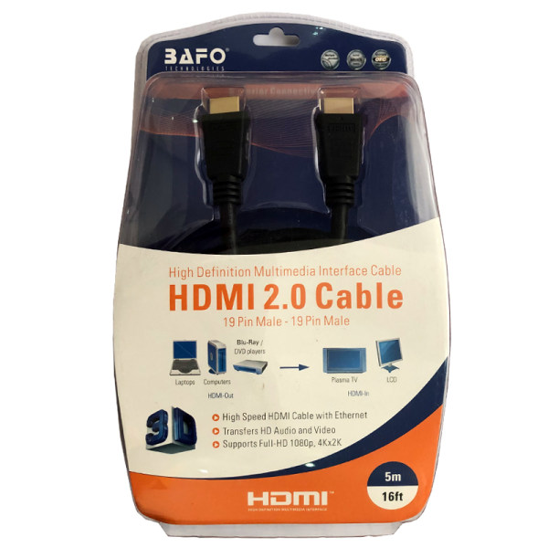 کابل HDMI بافو مدل A2 طول 3 متری