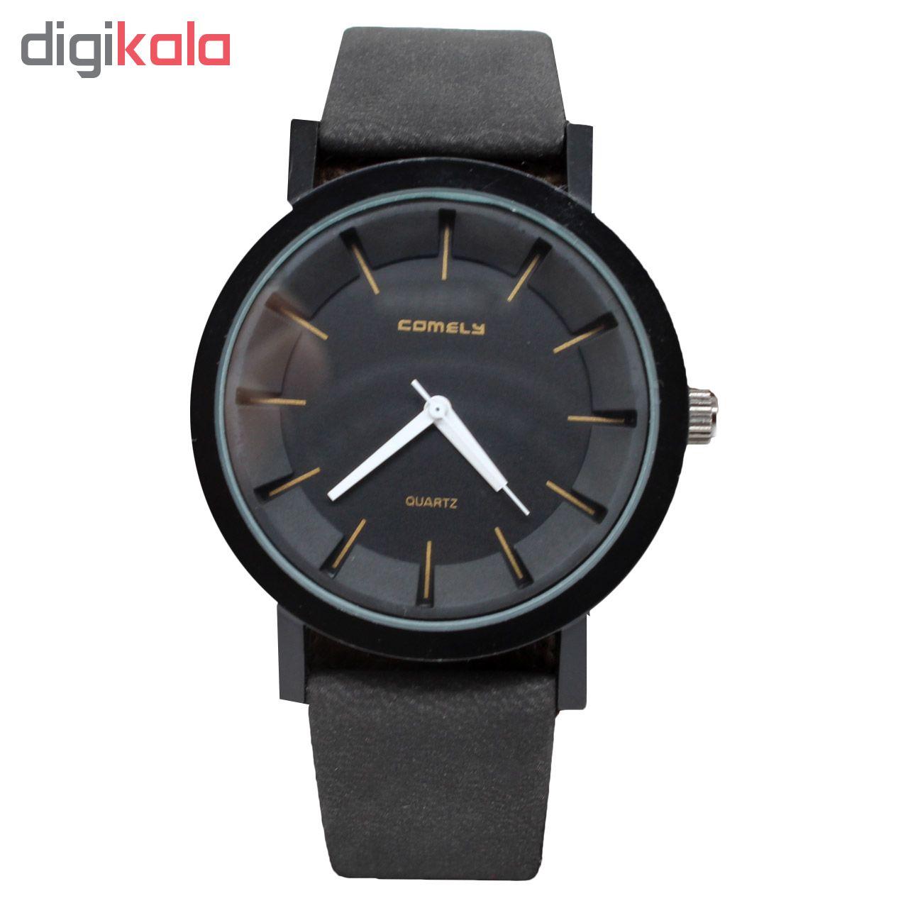 خرید ساعت مچی عقربه ای کملی مدل KW-006 | ساعت مچی