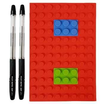دفتر یادداشت مدل لگو کد 2114 به همراه خودکار پایلوت BPS-GP  بسته دوعددی |