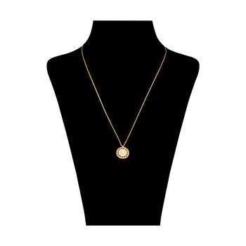 گردنبند طلا 18 عیار زنانه مایا ماهک مدل MM1094