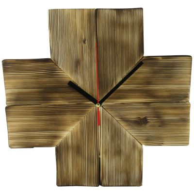Photo of ساعت دیواری چوبی  ثانیه مدل M8-5