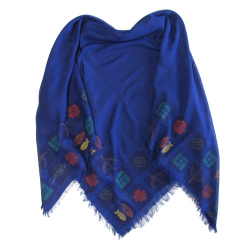 روسری سروین مدل نیلی کد SN101