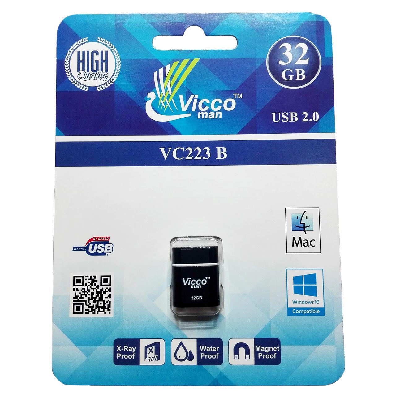 فلش مموری ویکو من مدل VC223 ظرفیت 32 گیگابایت