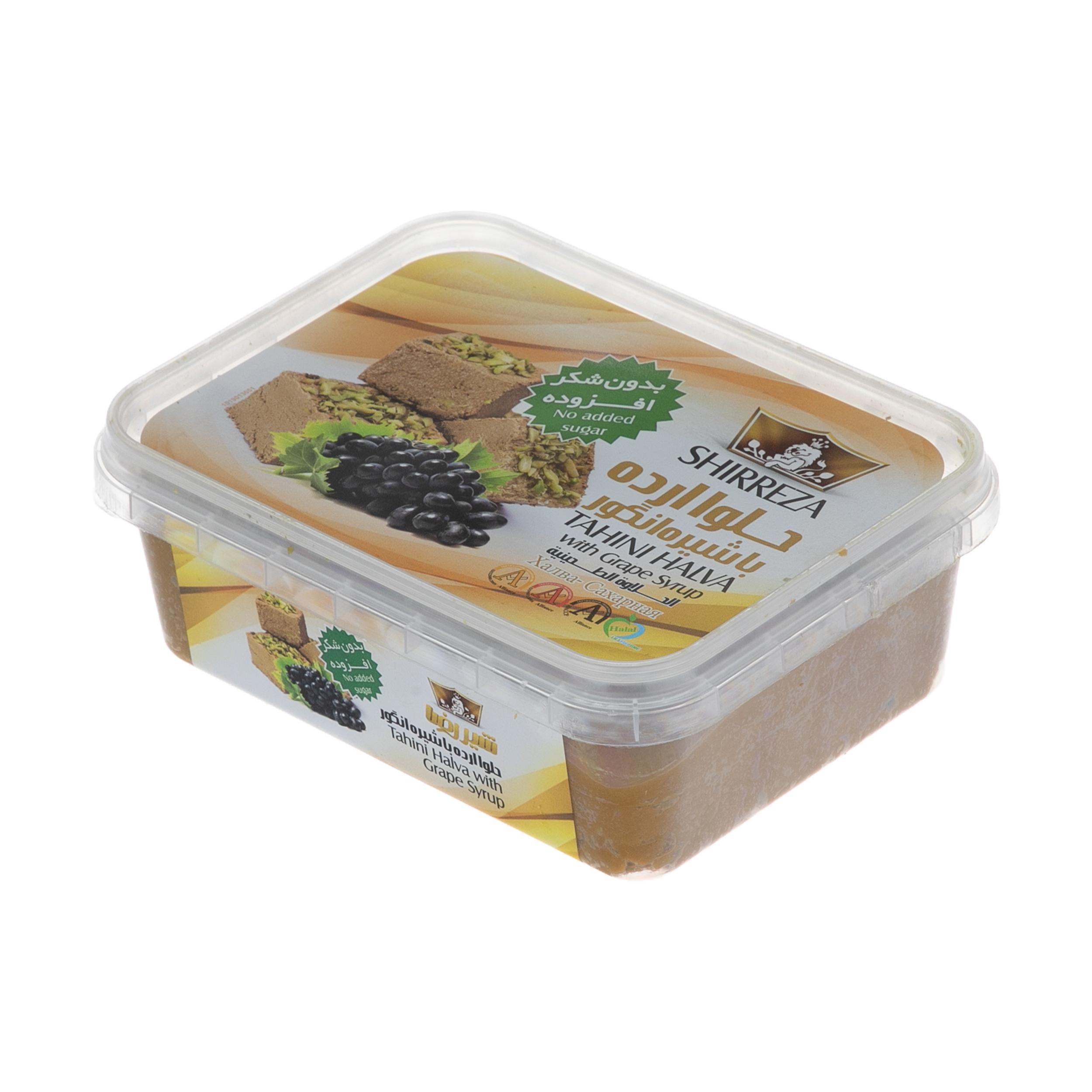 حلوا ارده با شیره انگور شیررضا - 400 گرم