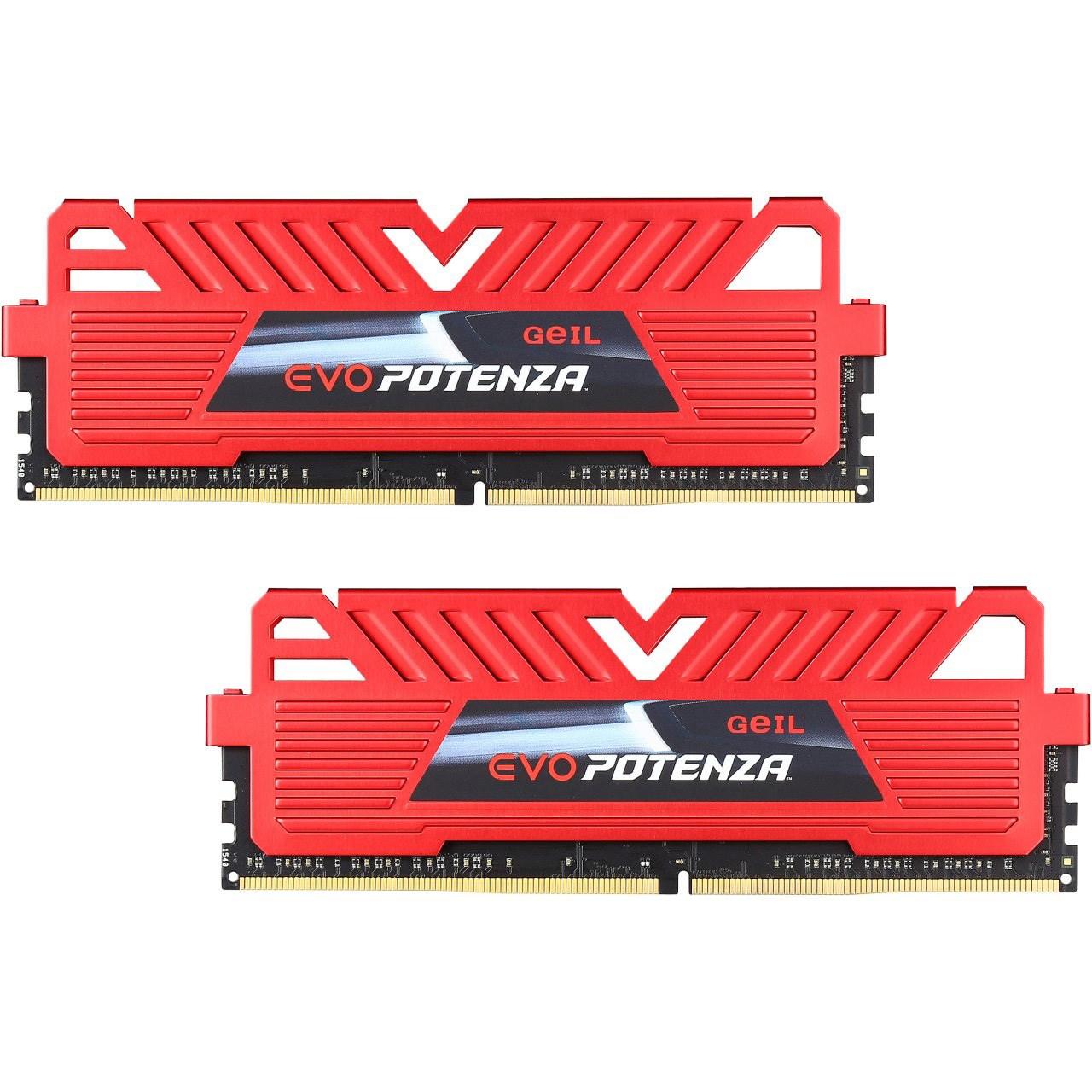 رم دسکتاپ DDR4 دو کاناله 3000 مگاهرتز CL15 گیل مدل Potenza ظرفیت 8 گیگابایت
