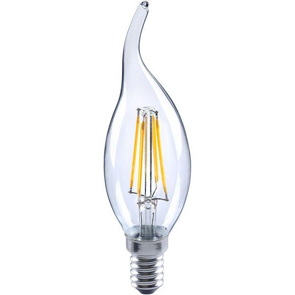 لامپ فیلامنتی 4 وات مودی کد 01 پایه E14 بسته 5 عددی