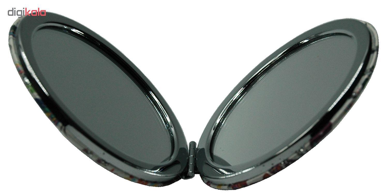 آینه جیبی طرح پروانه مدل 3-233942