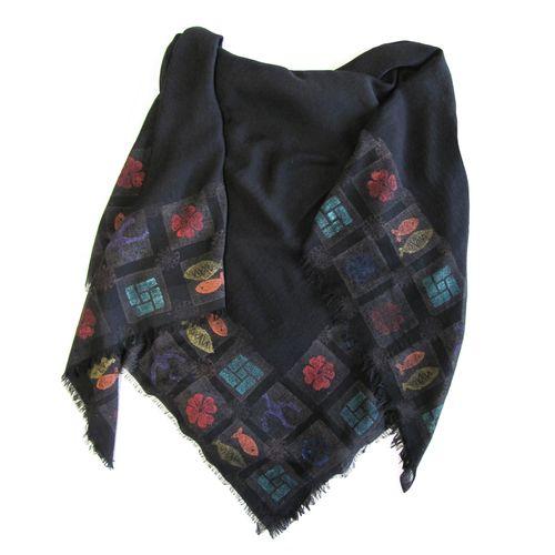 روسری سروین مدل نیلی کد SN103