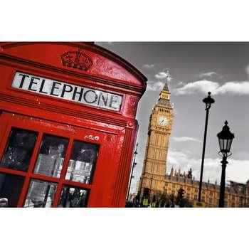 تابلو شاسی طرح زیباترین عکس های جهان-برج بیگ بن لندن کد 117