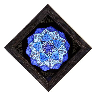 Photo of تابلو بشقاب میناکاری کد 11-10087