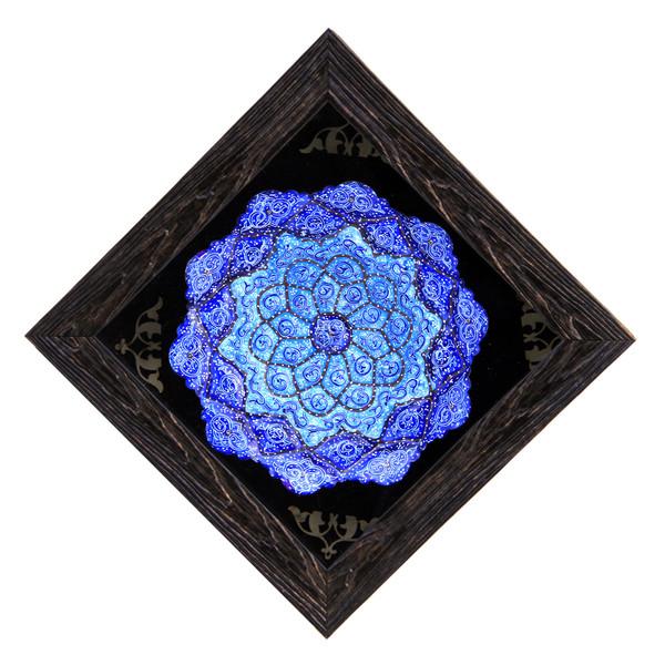 تابلو بشقاب میناکاری کد 13-10087