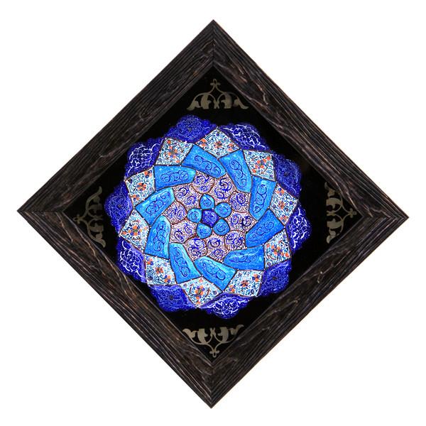 تابلو بشقاب میناکاری کد 17-10087