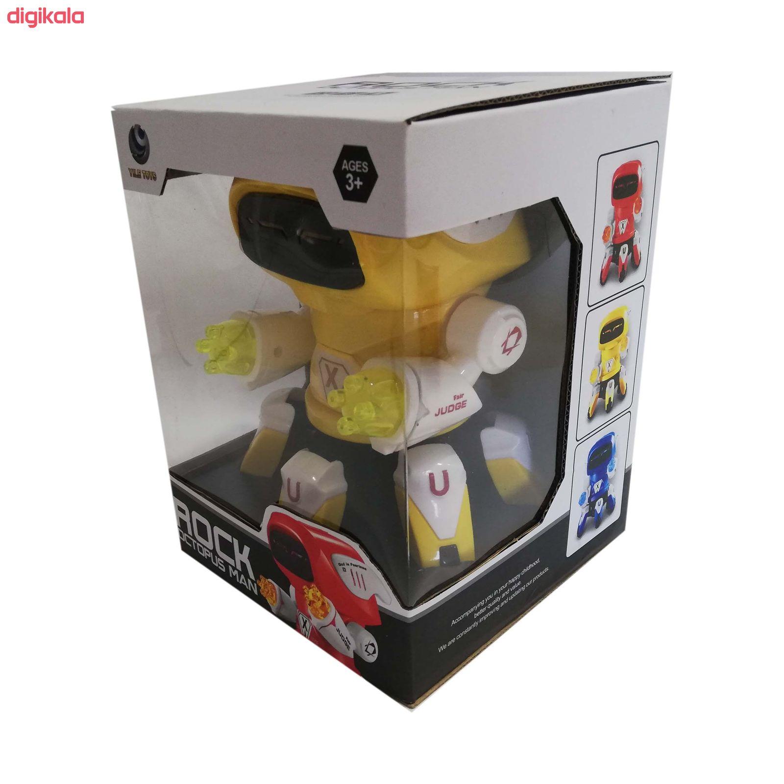 اسباب بازی  طرح ربات خرچنگی مدل آدم آهنیکد 058 main 1 1