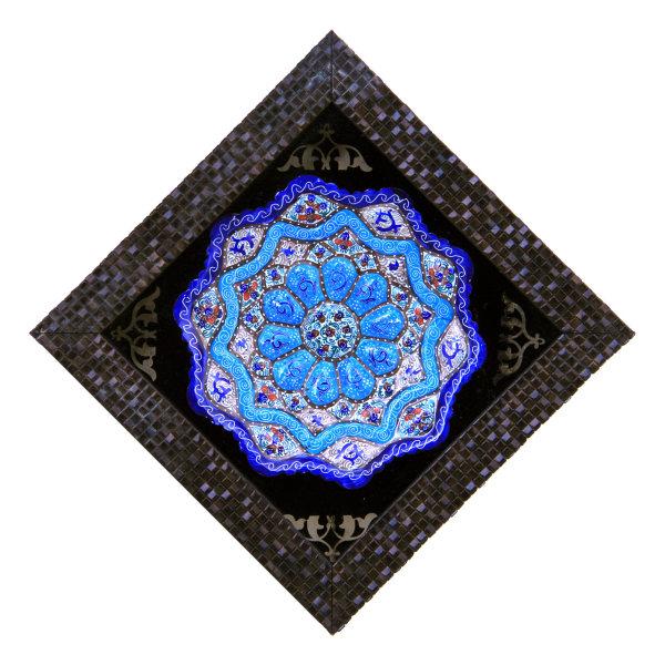 تابلو بشقاب میناکاری کد 23-10087