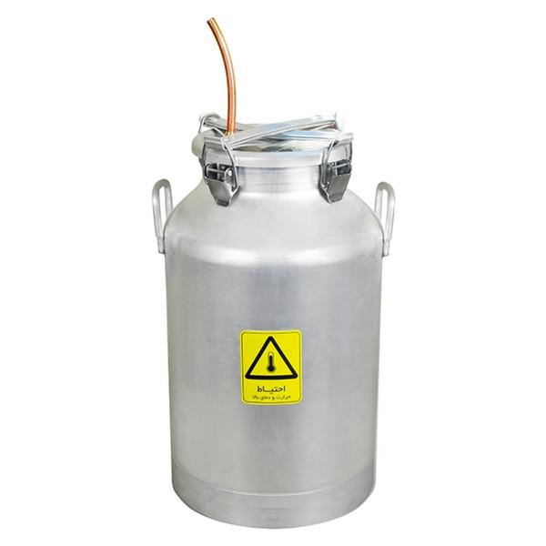 دستگاه تقطیر مدل دستگاه عرق گیر و تقطیر 30 لیتری با کندانسور برقی