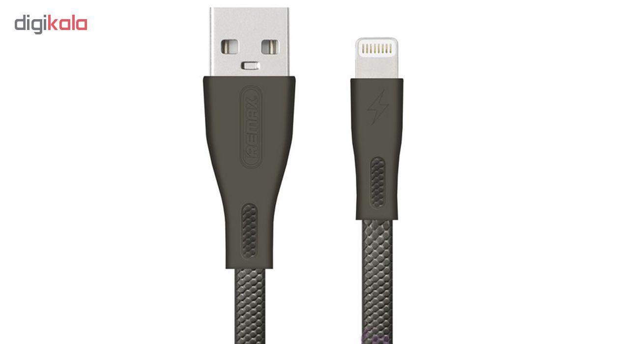 کابل تبدیل USB به لایتنینگ ریمکس مدل RC-090i طول 1متر مناسب ایفون main 1 1