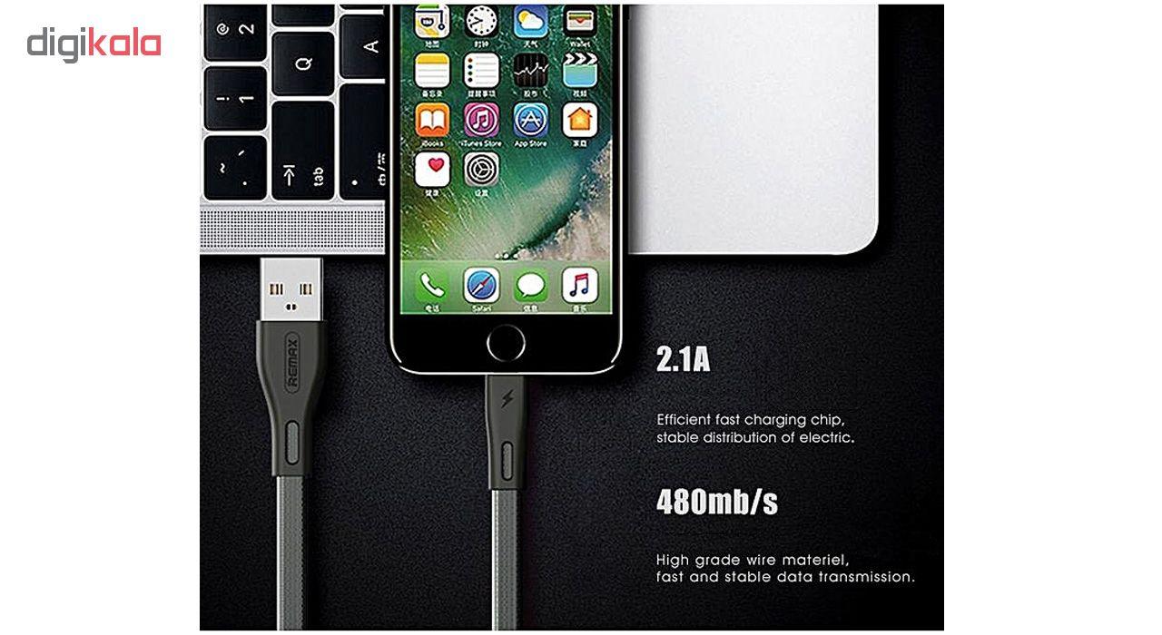 کابل تبدیل USB به لایتنینگ ریمکس مدل RC-090i طول 1متر مناسب ایفون main 1 2