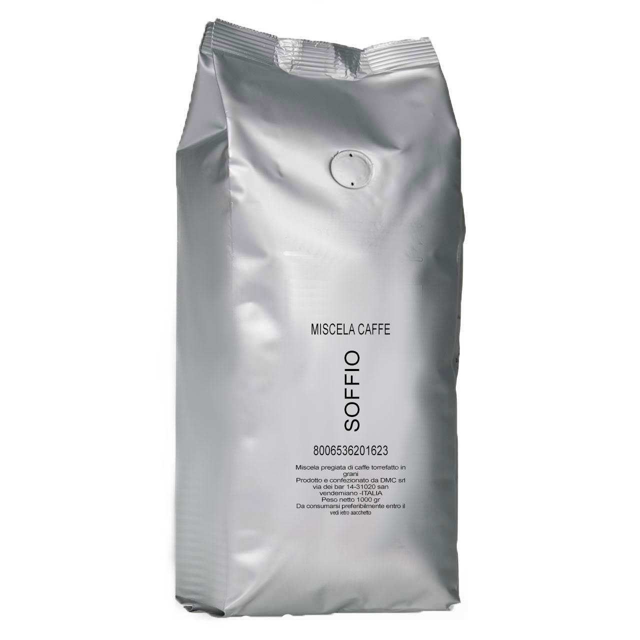دانه قهوه مانوئل کافه مدل soffio مقدار 1000 گرم
