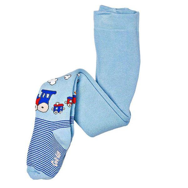 جوراب شلواری بچگانه کنته کیدز طرح قطار