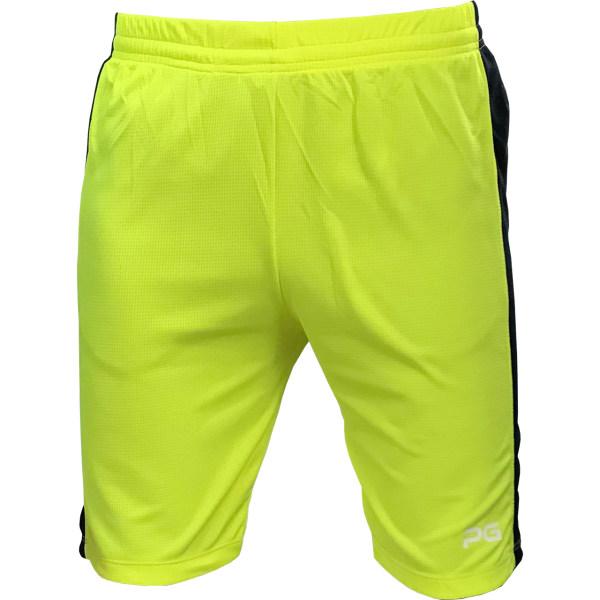 شورت ورزشی مردانه پرگان مدل افرا کد 009 رنگ زرد