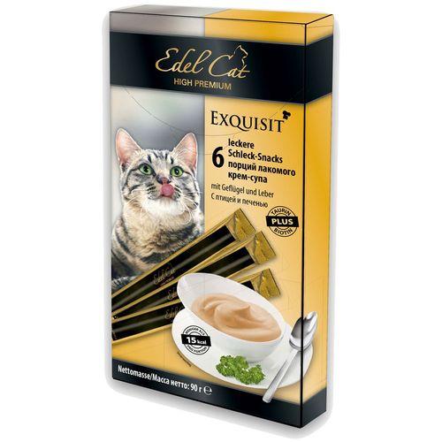 غذای تشویقی گربه ایدل کت گربه مدل گوشت مرغ ، جگر و بیوتین وزن 90 گرم
