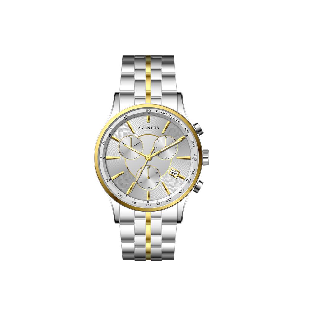 ساعت مچی عقربه ای مردانه اونتوس مدل 1348-5GWH 45