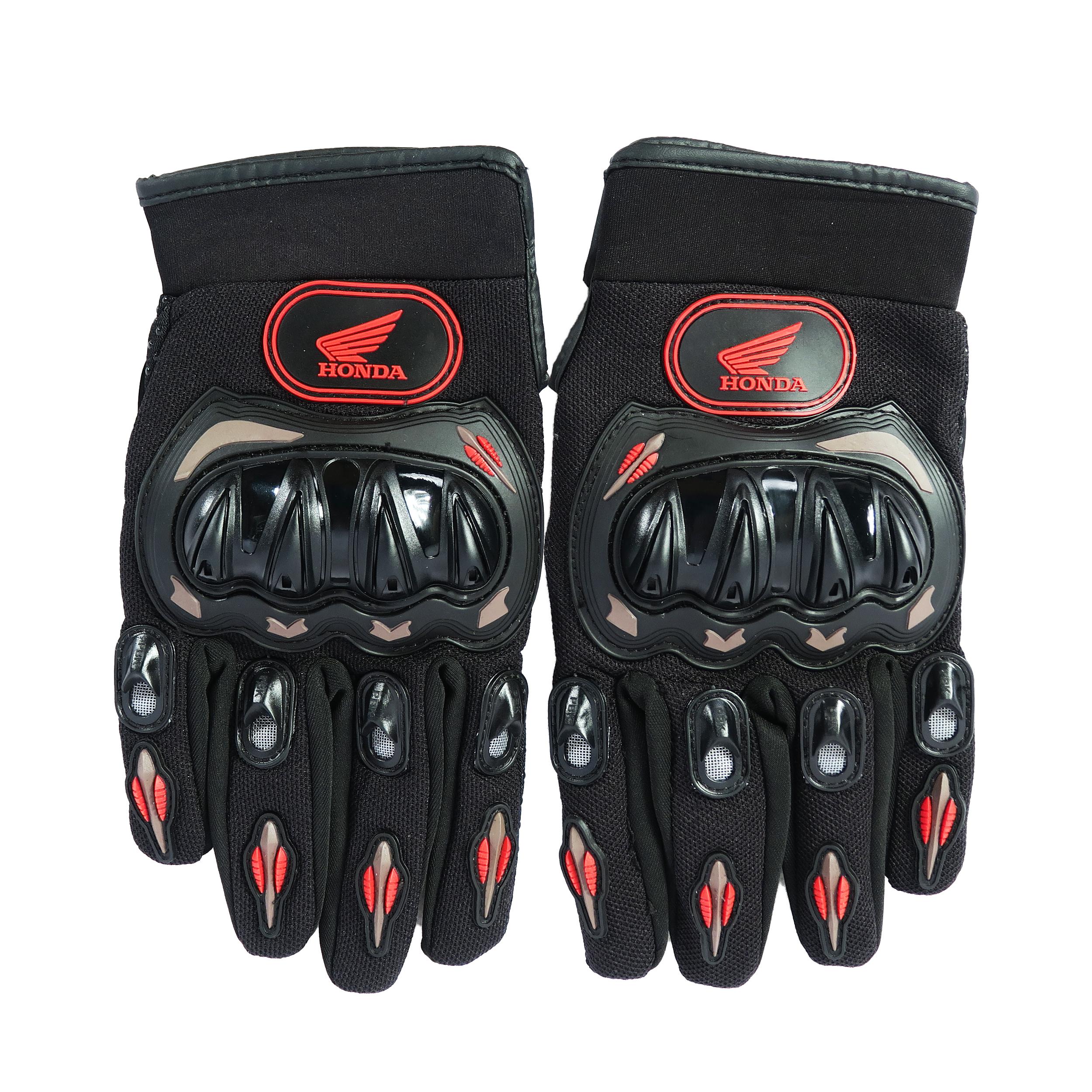 دستکش موتورسواری هوندا مدل 007