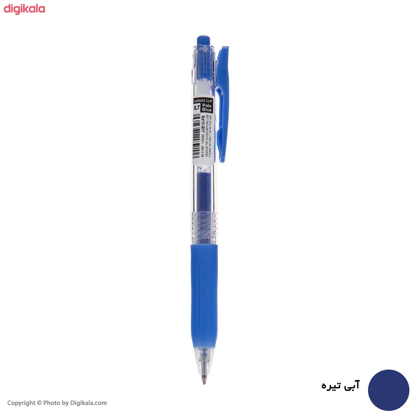 روان نویس زبرا مدل Sarasa Clip با قطر نوشتاری 0.7 main 1 10