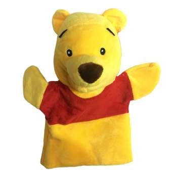 عروسک نمایشی مدل Poo Bear ارتفاع 25 سانتی متر