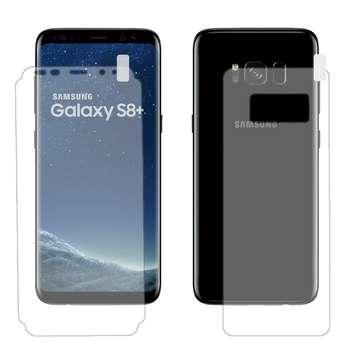 محافظ صفحه نمایش و پشت گوشی اسپارا مدل B03 مناسب برای گوشی موبایل سامسونگ Galaxy S8+