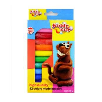خمیر بازی کیدی کلای مدل 12colors modeling clay