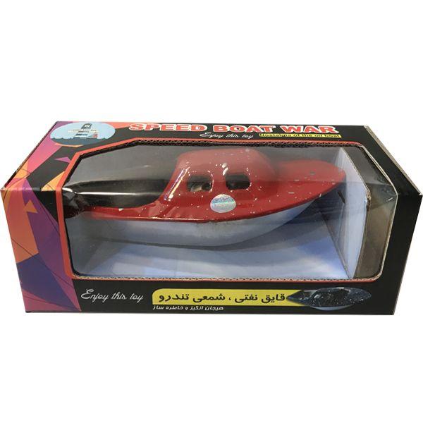 قایق مدل نفتی شمعی تندرو