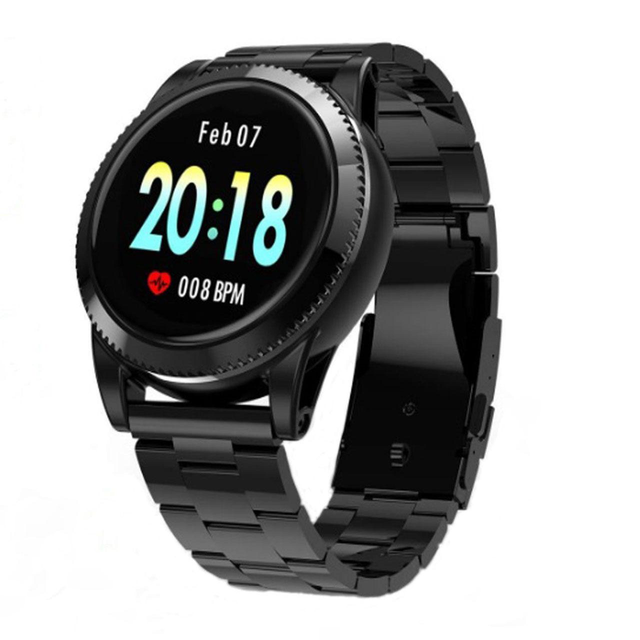 خرید ساعت هوشمند مدل GOKOO سنسور اکسیژن خون (SpO2) همراه بند سیلیکونی یدکی
