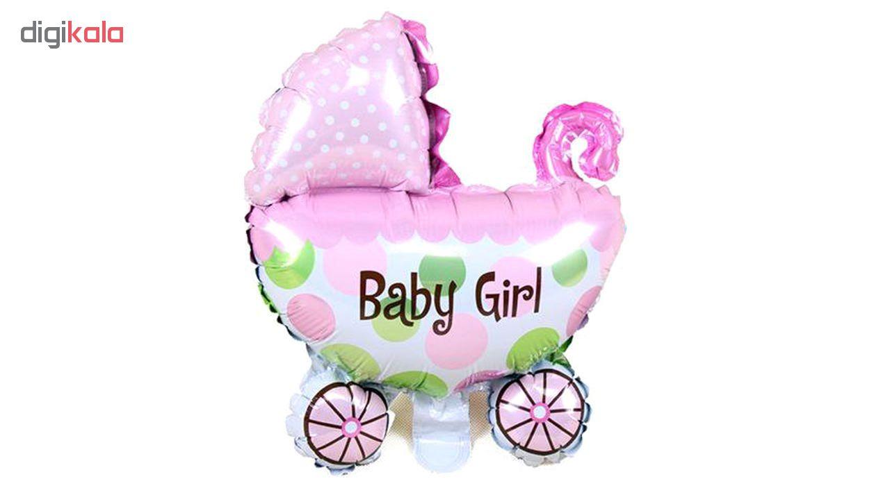بادکنک فویلی برایت مدل BabyGirl
