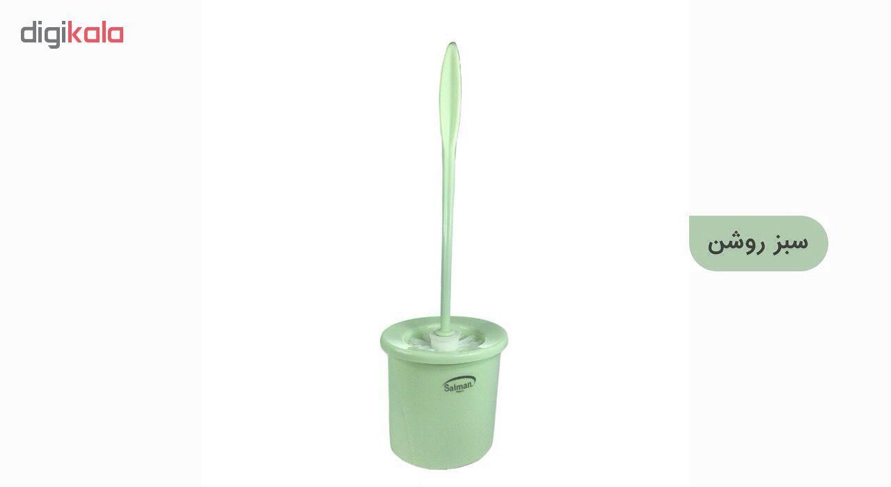 برس توالت شوی پلاستیک سلمان مدل گلبرگ main 1 6