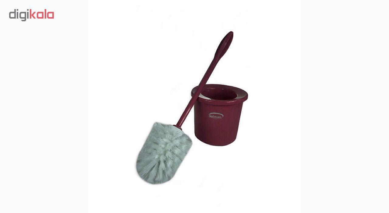 برس توالت شوی پلاستیک سلمان مدل گلبرگ main 1 13