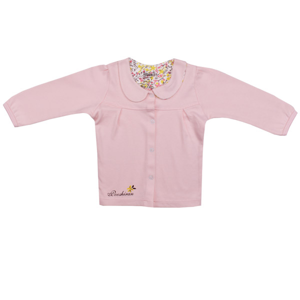 شومیز نوزادی پوشیران مدل جوجه تیغی