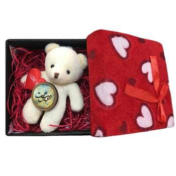 ست هدیه عروسک خرس مدل b1 |