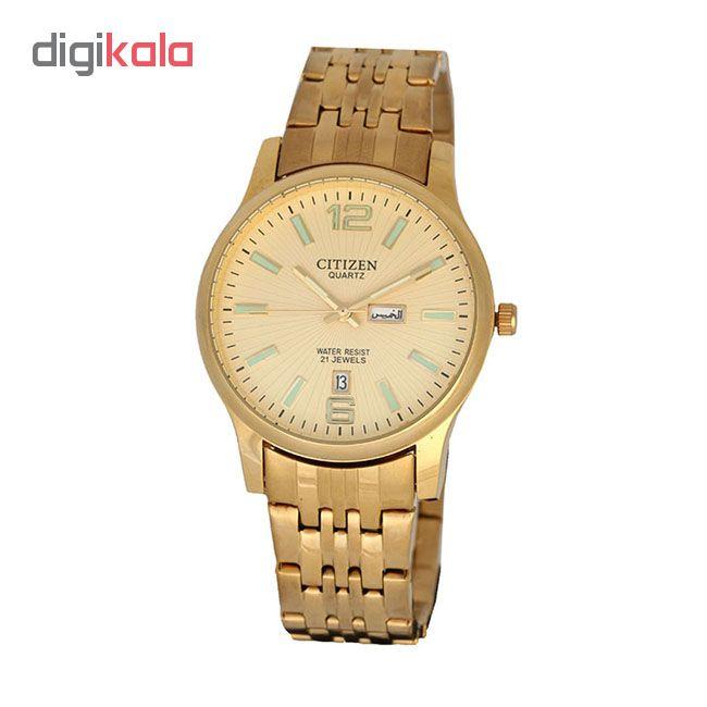 خرید ساعت مچی عقربه ای مردانه سیتی زن مدل F10750 | ساعت مچی