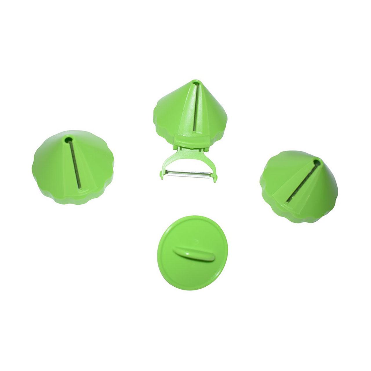 خردکن و رشته کن سبزیجات  چهار کاره مدل HY-606