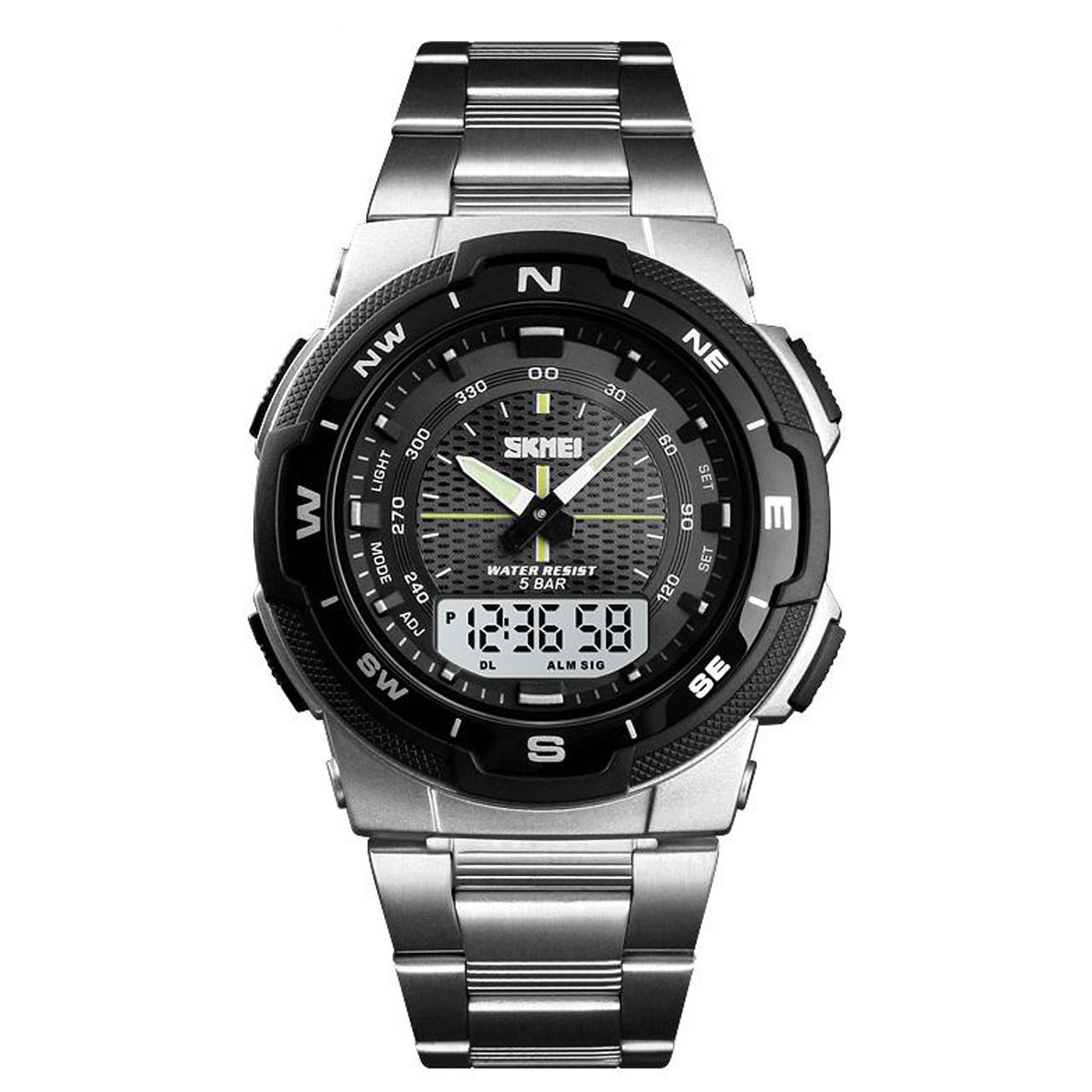 ساعت مچی عقربه ای مردانه اسکمی مدل 1370S