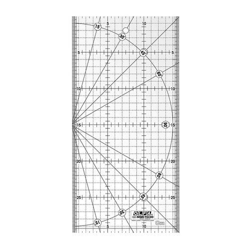 خط کش الفا کد MQR-15*30