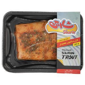 ماهی قزل سالمون طعم دار با طعم مکزیکی شارین مقدار 300 گرم