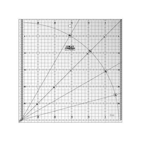 خط کش الفا کد MQR-30*30