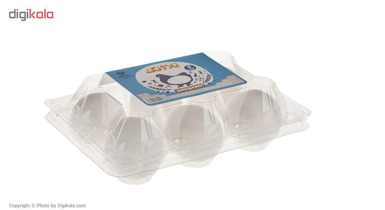 تخم مرغ جامبو تلاونگ بسته 6 عددی main 1 1