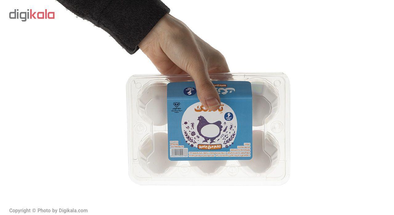 تخم مرغ جامبو تلاونگ بسته 6 عددی main 1 4