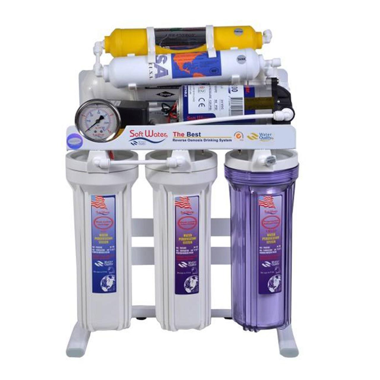 دستگاه تصفیه کننده آب سافت واتر مدل JW
