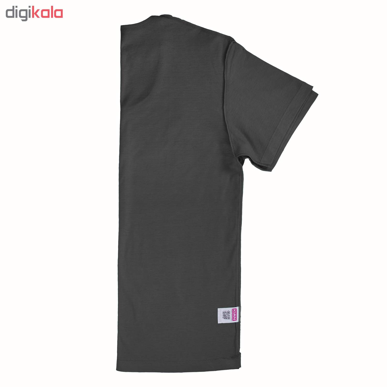 زیرپوش مردانه کیان تن پوش مدل U Neck Shirt Classic LG main 1 2