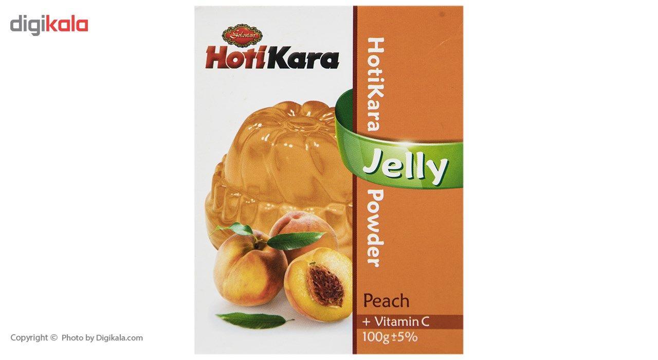 پودر ژله هلو هاتی کارا مقدار 100 گرم main 1 2