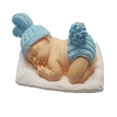 گیفت تولد و سیسمونی کودک طرح نوزاد پسر بسته 5 عددی